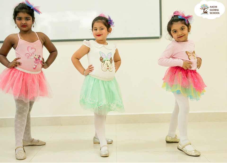 Ballet Dancing in Aachi Global School | Mc-Global Club Chennai