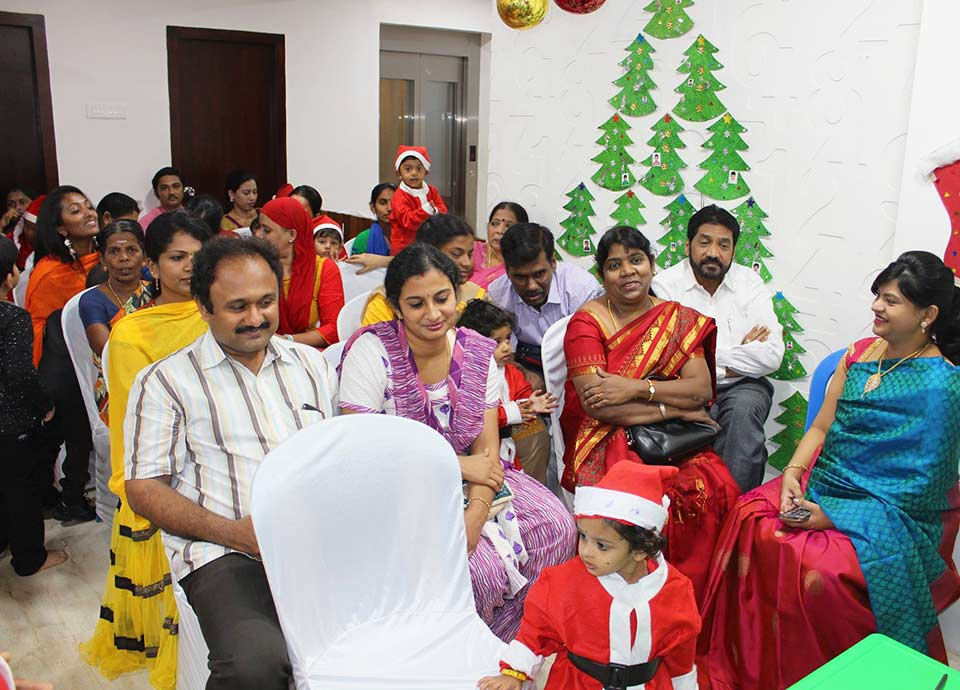 Christmas celebration 2016 at Aachi Global School