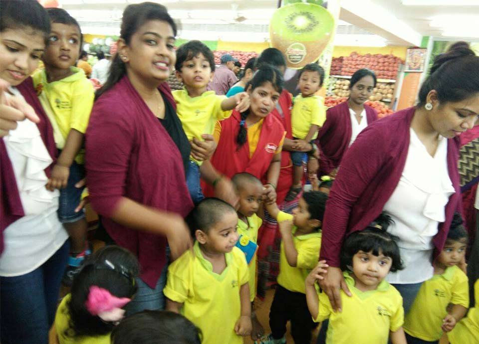 Fruits Day Celebration at Aachi Global School