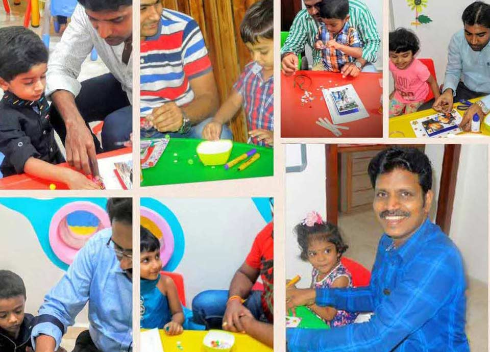 International Men's Day celebration at Aachi Global School