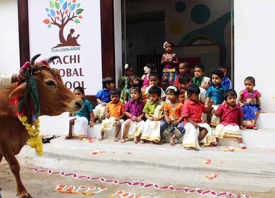Pongal Celebration 2017 at Aachi Global School