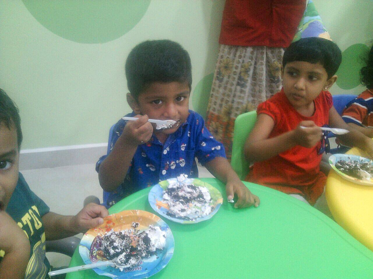Sahana Birthday celebration 2016 at Aachi Global School